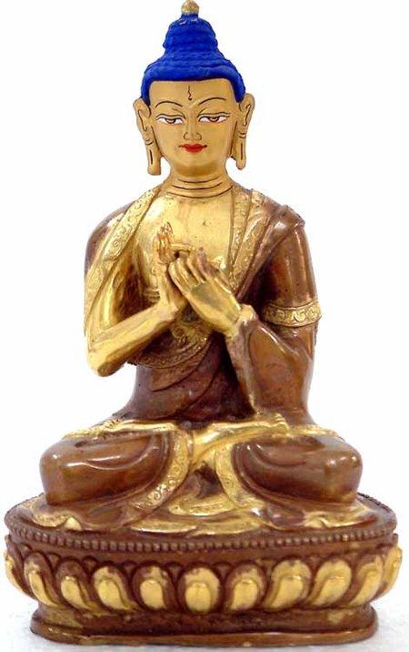 postura de meditación del Buda Vairochana