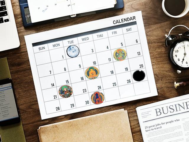 10 ideas para potenciar tu karma durante los días auspiciosos del calendario tibetano