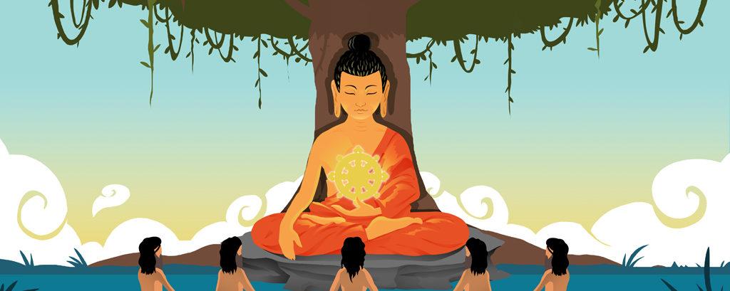 Chokhor Duchen, la festividad budista por la primera enseñanza del Buda