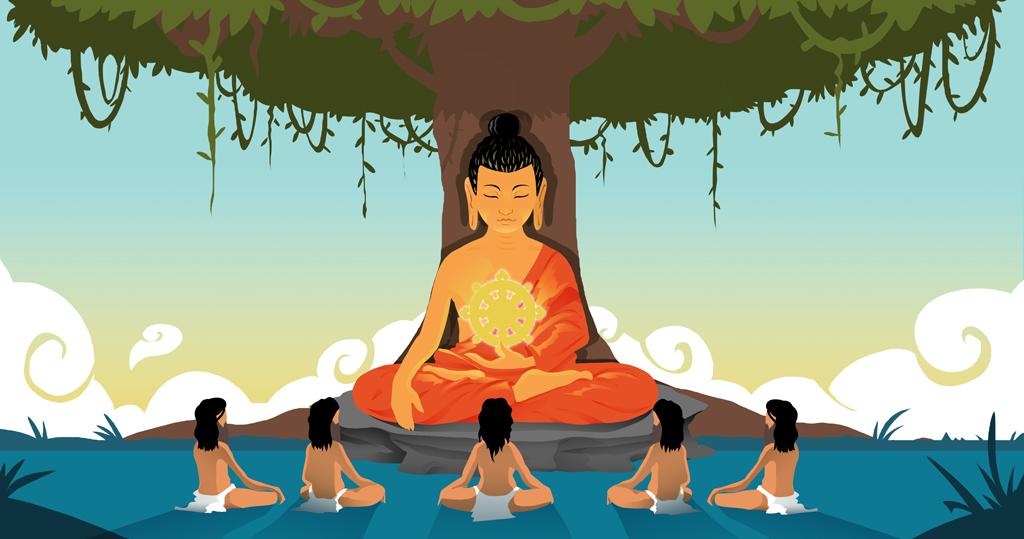 Chokhor Duchen, la festividad budista por la primera enseñanza del Buddha