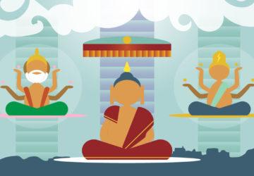 lha bab duchen descenso del buddha del reino celestial