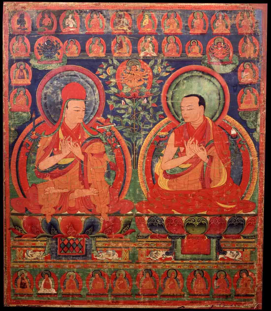 Sakya Pandita y Chogyal Phagpa