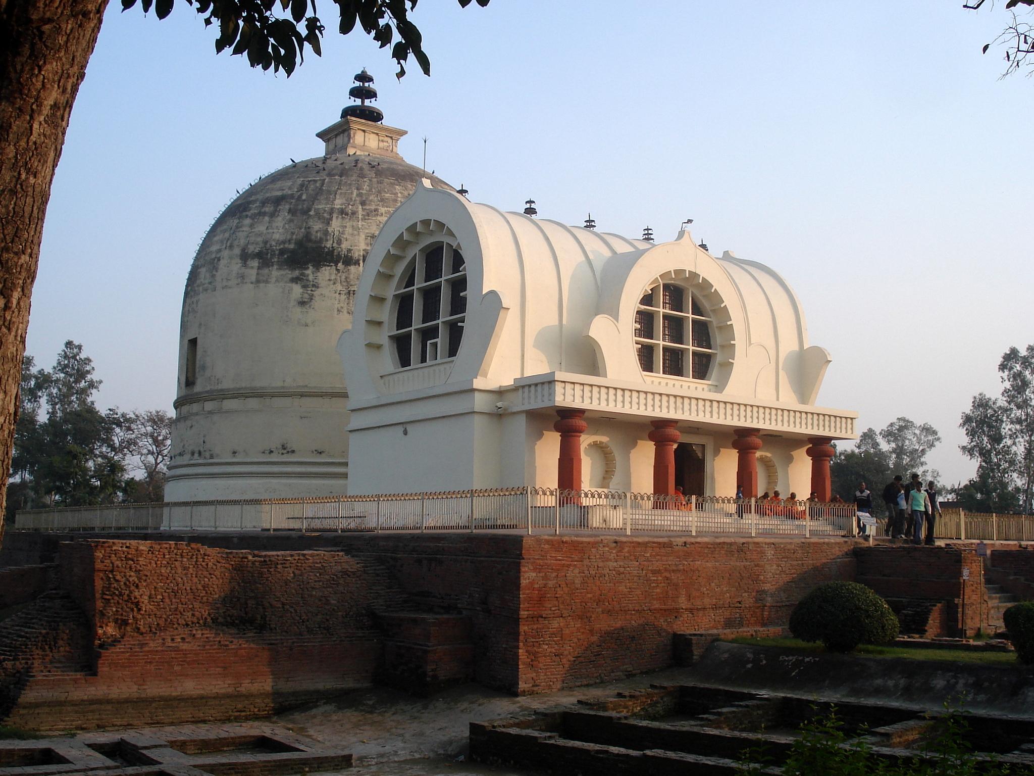 estupa kushinagar