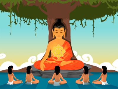 chokhor duchen primera enseñanza budista