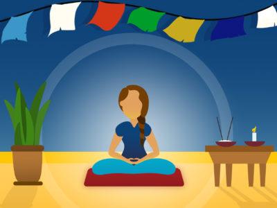 retiro en casa meditacion