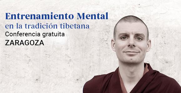 Lama Rinchen en Zaragoza conferencia