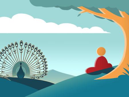 curso online Afilada rueda karma egocentrismo